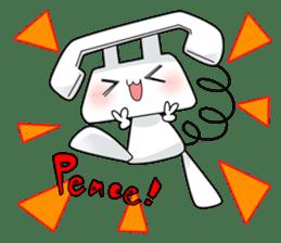 TELU-CHAN (Phone fairy, Telu-chan en) sticker #6761364