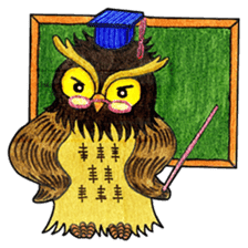 OWL Museum 7 sticker #6761435