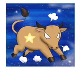 Lovely Star & Constellation sticker #6762770