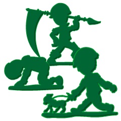 Green Army 2 (Cop Toy)