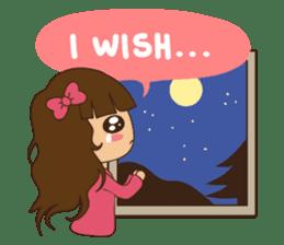 What a girl wants (ENG) sticker #6766332