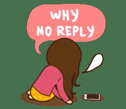 What a girl wants (ENG) sticker #6766351