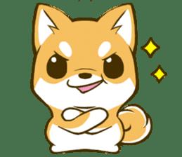 Japanese Shiba Inu tan 2 sticker #6775609