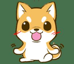Japanese Shiba Inu tan 2 sticker #6775613