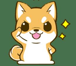 Japanese Shiba Inu tan 2 sticker #6775620