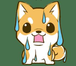 Japanese Shiba Inu tan 2 sticker #6775625