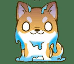 Japanese Shiba Inu tan 2 sticker #6775626