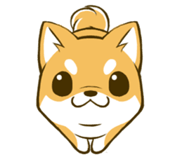 Japanese Shiba Inu tan 2 sticker #6775636