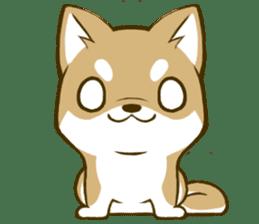 Japanese Shiba Inu tan 2 sticker #6775646