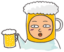 Beerjaa : All I need is Beer sticker #6777368