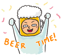 Beerjaa : All I need is Beer sticker #6777369