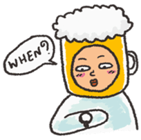 Beerjaa : All I need is Beer sticker #6777377