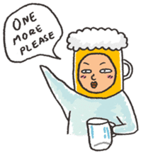 Beerjaa : All I need is Beer sticker #6777389
