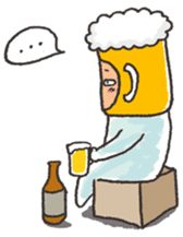 Beerjaa : All I need is Beer sticker #6777391