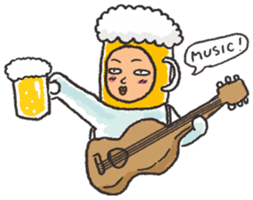 Beerjaa : All I need is Beer sticker #6777392