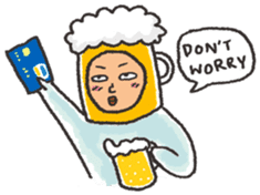 Beerjaa : All I need is Beer sticker #6777405