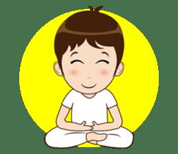 Meditation Couple Life sticker #6778715