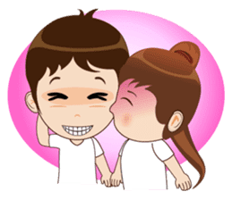 Meditation Couple Life sticker #6778743