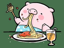 Passan the pig sticker #6782291