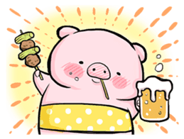 Passan the pig sticker #6782294