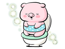 Passan the pig sticker #6782302