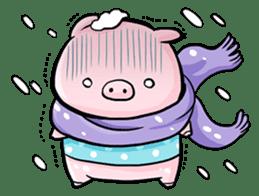 Passan the pig sticker #6782305