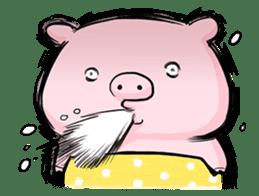 Passan the pig sticker #6782314