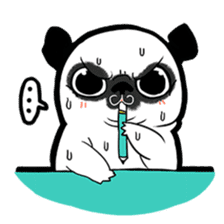 A PUG LIFE sticker #6794826