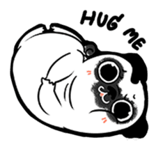 A PUG LIFE sticker #6794829