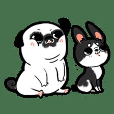 A PUG LIFE sticker #6794835
