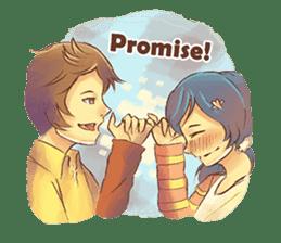 Sweet First Love sticker #6797091