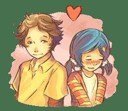 Sweet First Love sticker #6797092