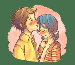 Sweet First Love sticker #6797093