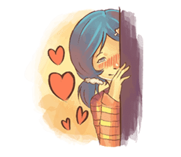 Sweet First Love sticker #6797106