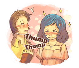 Sweet First Love sticker #6797117