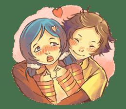 Sweet First Love sticker #6797120