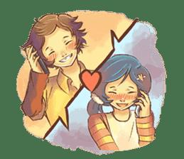 Sweet First Love sticker #6797126