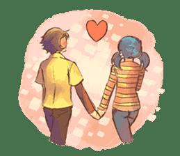 Sweet First Love sticker #6797127