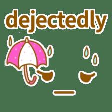 Cute look look(English) sticker #6798260
