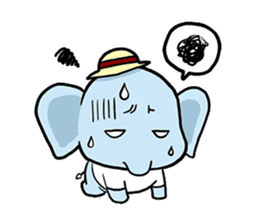 Thai Smiley Elephant sticker #6799392