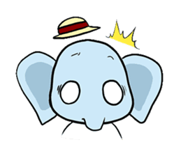 Thai Smiley Elephant sticker #6799395