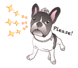 Emma Princess (French Bulldog) sticker #6806568
