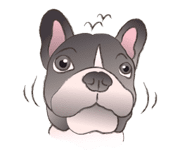 Emma Princess (French Bulldog) sticker #6806569
