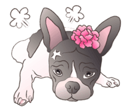 Emma Princess (French Bulldog) sticker #6806570