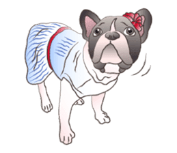Emma Princess (French Bulldog) sticker #6806571