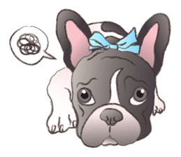 Emma Princess (French Bulldog) sticker #6806572