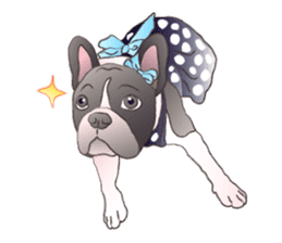 Emma Princess (French Bulldog) sticker #6806573