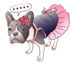 Emma Princess (French Bulldog) sticker #6806575