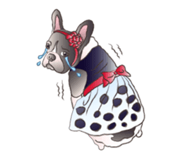 Emma Princess (French Bulldog) sticker #6806577