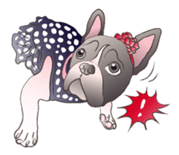 Emma Princess (French Bulldog) sticker #6806578
